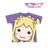 ラブライブ!サンシャイン!! フルグラフィックTシャツ(小原鞠莉)/ユニセックス(サイズ/L) 【再販】