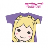 ラブライブ!サンシャイン!! フルグラフィックTシャツ(小原鞠莉)/ユニセックス(サイズ/XL) 【再販】