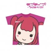 ラブライブ!サンシャイン!! フルグラフィックTシャツ(黒澤ルビィ)/ユニセックス(サイズ/L) 【再販】
