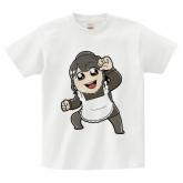 逢田梨香子のまるごとりかこ 大川ぶくぶ先生イラストTシャツ Lサイズ