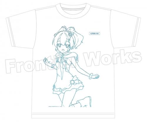 【グッズ-Tシャツ】アズールレーン Tシャツ(ジャベリン)