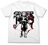 Fate/Apocrypha 赤のセイバーTシャツ/WHITE-L