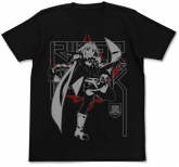 Fate/Apocrypha 黒のライダーTシャツ/BLACK-S