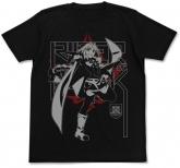 Fate/Apocrypha 黒のライダーTシャツ/BLACK-L