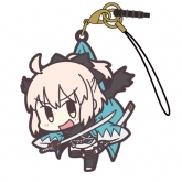 Fate/Grand Order セイバー/沖田総司つままれストラップ