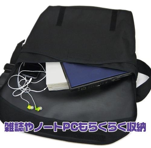 【グッズ-バッグ】ラブライブ!虹ヶ咲学園スクールアイドル同好会 中須かすみ メッセンジャーバッグ BLACK サブ画像4