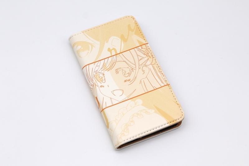 【グッズ-携帯グッズ】彼女、お借りします 手帳型スマホケース・水原千鶴 iPhoneSE サブ画像2