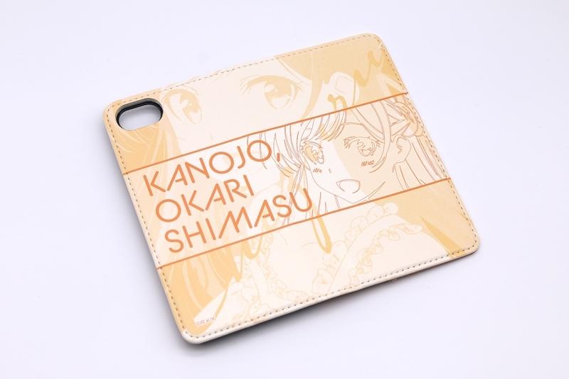 【グッズ-携帯グッズ】彼女、お借りします 手帳型スマホケース・水原千鶴 iPhoneSE サブ画像3
