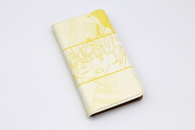 【グッズ-携帯グッズ】彼女、お借りします 手帳型スマホケース・七海麻美 iPhoneSE サブ画像2