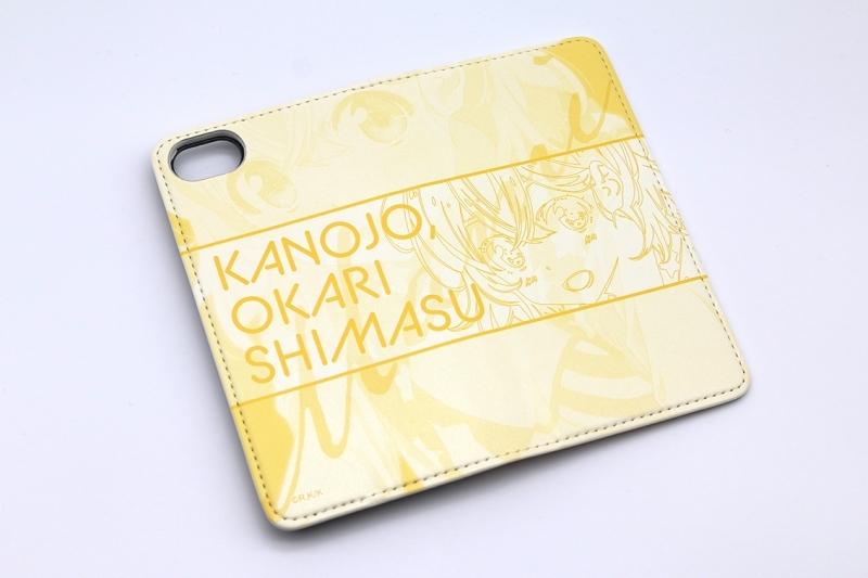 【グッズ-携帯グッズ】彼女、お借りします 手帳型スマホケース・七海麻美 iPhoneSE サブ画像3