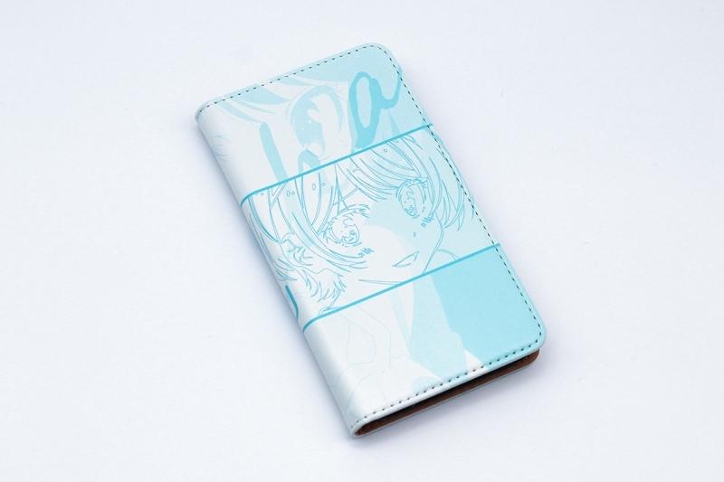 【グッズ-携帯グッズ】彼女、お借りします 手帳型スマホケース・更科瑠夏 iPhone7/8 サブ画像2