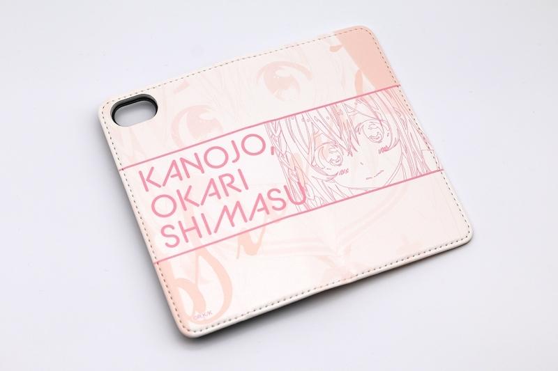 【グッズ-携帯グッズ】彼女、お借りします 手帳型スマホケース・桜沢墨 iPhoneX/XS サブ画像3