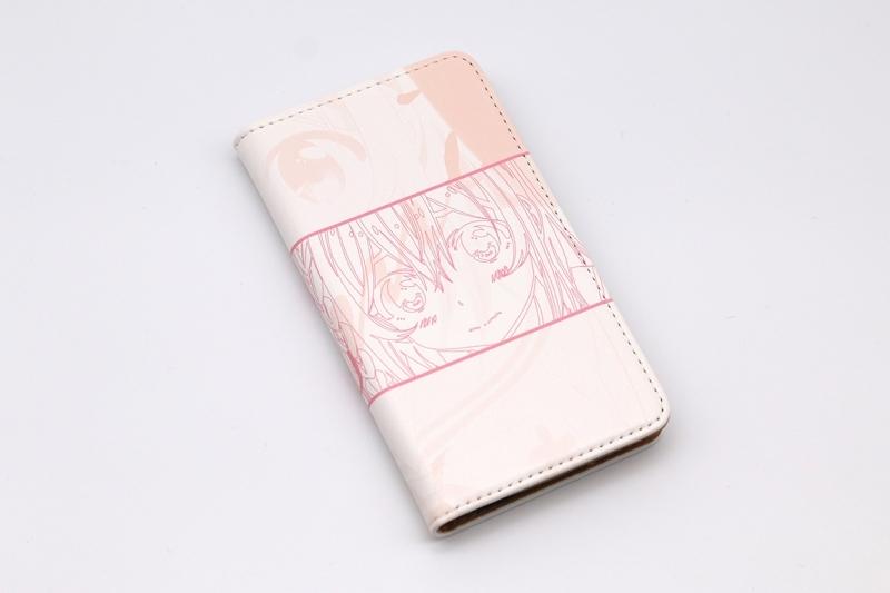 【グッズ-携帯グッズ】彼女、お借りします 手帳型スマホケース・桜沢墨 iPhoneSE サブ画像2