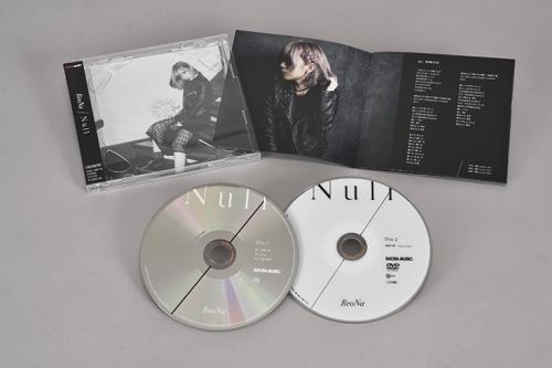 【マキシシングル】ReoNa/Null 初回生産限定盤 サブ画像2
