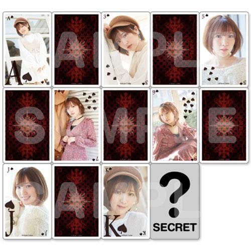 【グッズ-カード】「豊田萌絵 Birthday Party 2020」 トランプ型トレーディングカード(スペード)