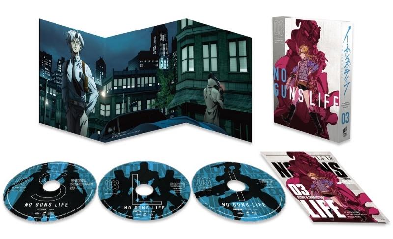 【Blu-ray】TV ノー・ガンズ・ライフ Blu-ray BOX 3【初回生産限定】 サブ画像2