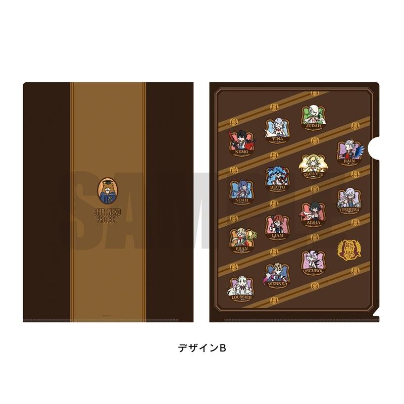 【グッズ-クリアファイル】白猫プロジェクト クリアファイル PlayP-B