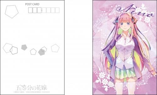 【グッズ-ポストカード】五等分の花嫁 PALE TONE series ポストカードセット サブ画像3