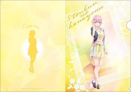 【グッズ-クリアファイル】五等分の花嫁 PALE TONE series クリアファイルセット サブ画像2