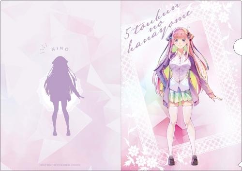 【グッズ-クリアファイル】五等分の花嫁 PALE TONE series クリアファイルセット サブ画像3