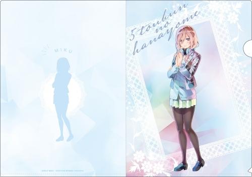 【グッズ-クリアファイル】五等分の花嫁 PALE TONE series クリアファイルセット サブ画像4