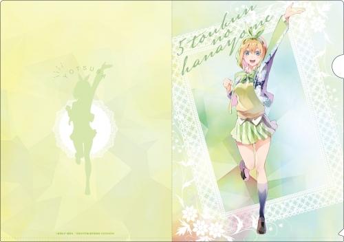 【グッズ-クリアファイル】五等分の花嫁 PALE TONE series クリアファイルセット サブ画像5