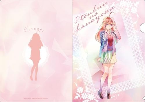 【グッズ-クリアファイル】五等分の花嫁 PALE TONE series クリアファイルセット サブ画像6