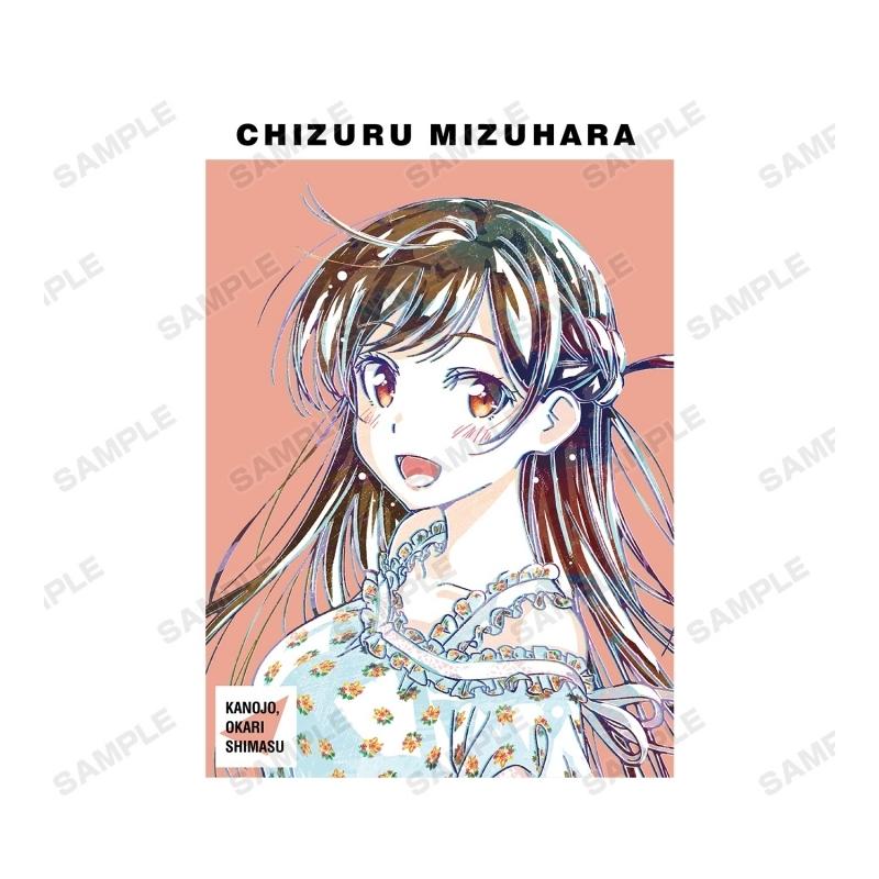 【グッズ-Tシャツ】彼女、お借りします 水原千鶴 Ani-Art Tシャツメンズ(サイズ/XL) サブ画像2