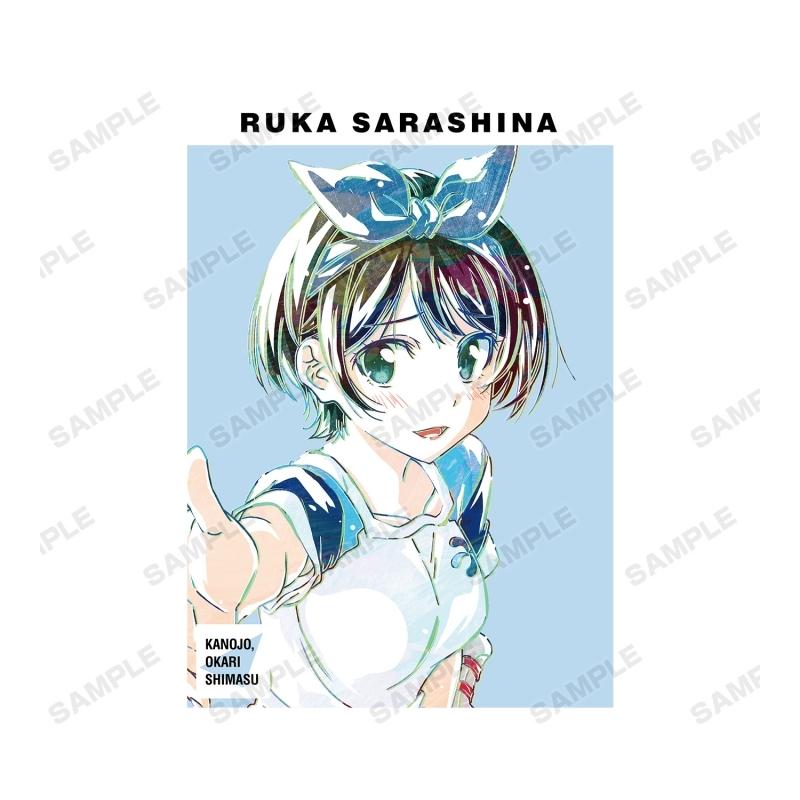 【グッズ-Tシャツ】彼女、お借りします 更科瑠夏 Ani-Art Tシャツメンズ(サイズ/S) サブ画像2