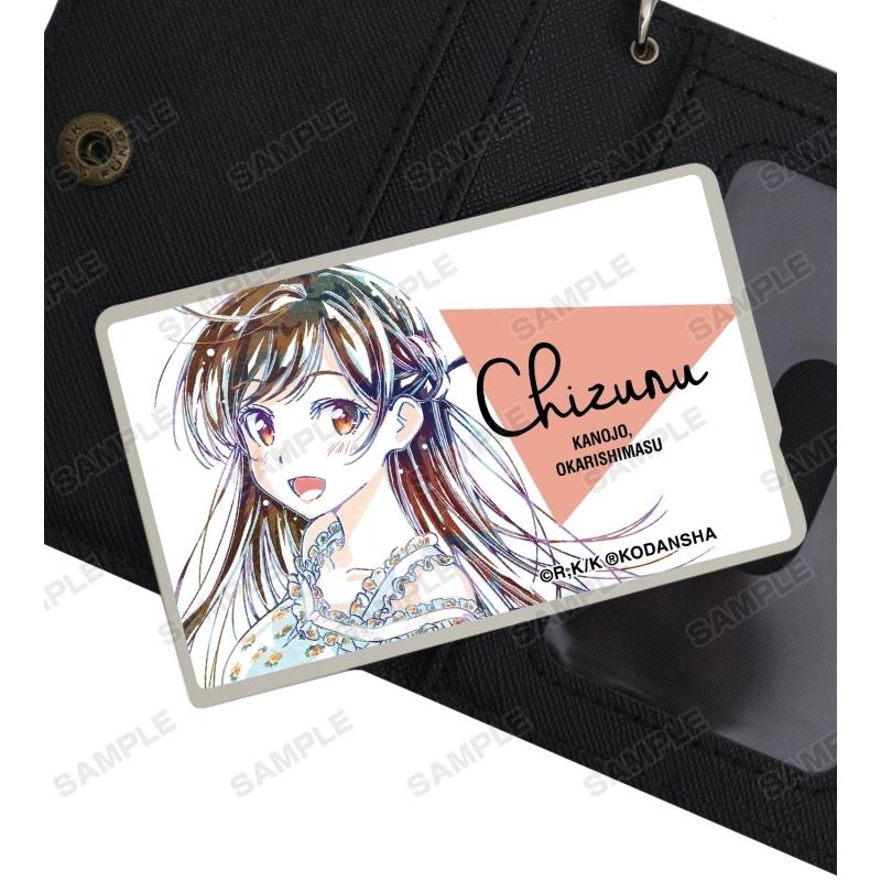 【グッズ-ステッカー】彼女、お借りします 水原千鶴 Ani-Art カードステッカー サブ画像2