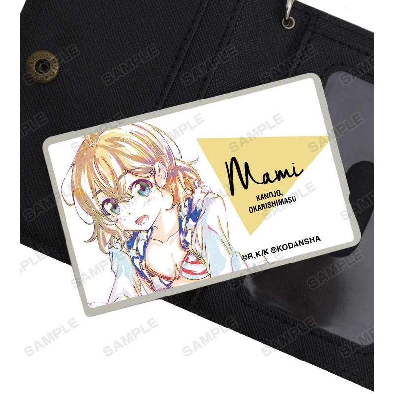 【グッズ-ステッカー】彼女、お借りします 七海麻美 Ani-Art カードステッカー サブ画像2