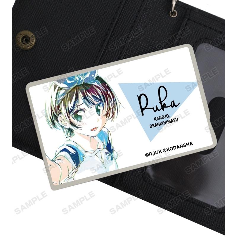 【グッズ-ステッカー】彼女、お借りします 更科瑠夏 Ani-Art カードステッカー サブ画像2