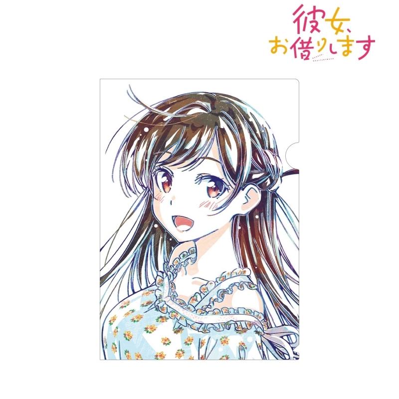 【グッズ-クリアファイル】彼女、お借りします 水原千鶴 Ani-Art クリアファイル