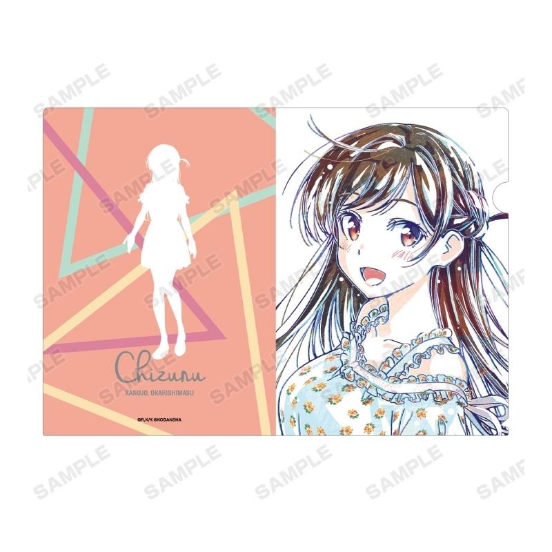【グッズ-クリアファイル】彼女、お借りします 水原千鶴 Ani-Art クリアファイル サブ画像2
