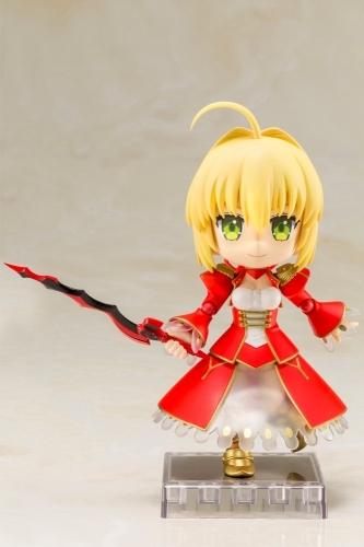 【フィギュア】Fate/EXTRA Last Encore キューポッシュ  セイバー NONスケール PVC塗装済み可動フィギュア