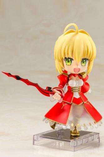【フィギュア】Fate/EXTRA Last Encore キューポッシュ  セイバー NONスケール PVC塗装済み可動フィギュア サブ画像2