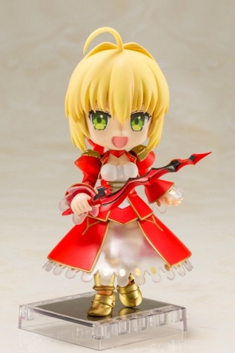 【フィギュア】Fate/EXTRA Last Encore キューポッシュ  セイバー NONスケール PVC塗装済み可動フィギュア サブ画像4
