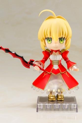 【フィギュア】Fate/EXTRA Last Encore キューポッシュ  セイバー NONスケール PVC塗装済み可動フィギュア サブ画像6