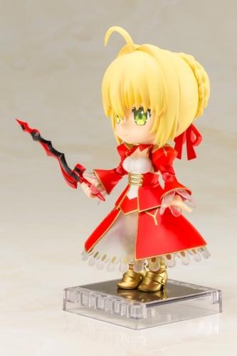 【フィギュア】Fate/EXTRA Last Encore キューポッシュ  セイバー NONスケール PVC塗装済み可動フィギュア サブ画像7