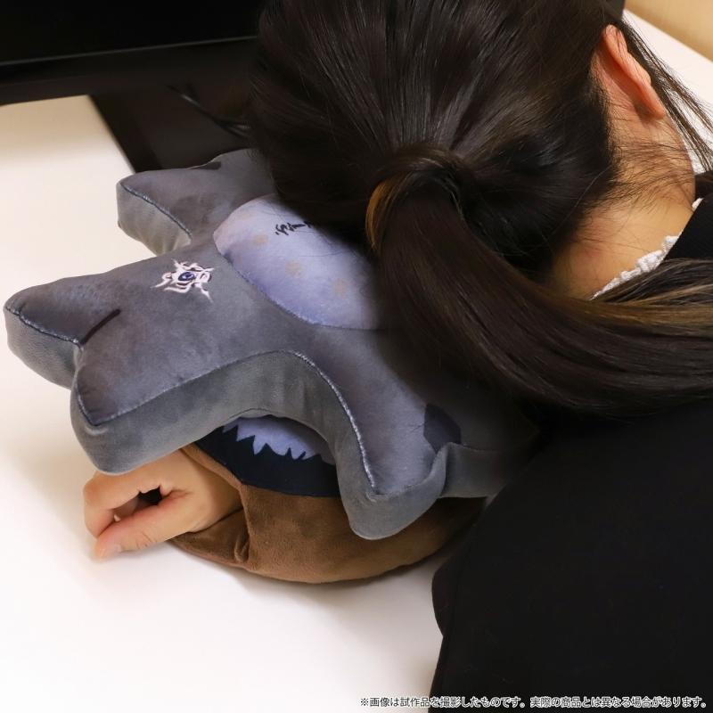 【グッズ-まくら】Fate/Grand Order -絶対魔獣戦線バビロニア- マシュの盾お昼寝まくら【受注生産商品】 サブ画像4