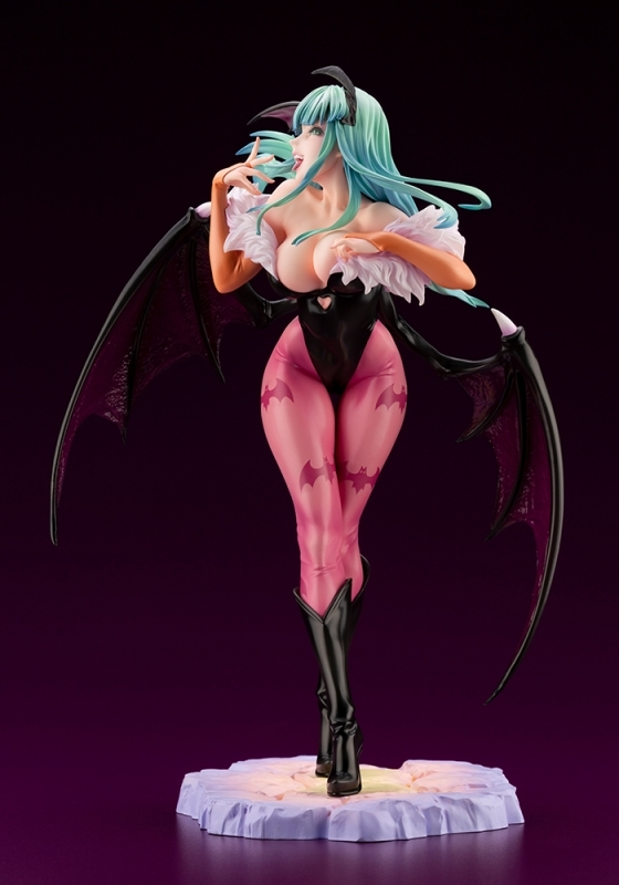 【フィギュア】ヴァンパイア美少女 モリガン 1/7スケール PVC塗装済み完成品【特価】 サブ画像4