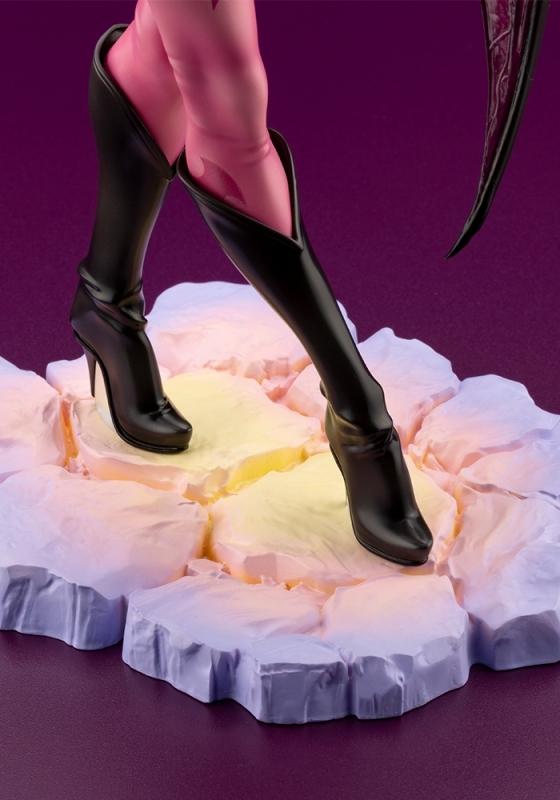 【フィギュア】ヴァンパイア美少女 モリガン 1/7スケール PVC塗装済み完成品【特価】 サブ画像8