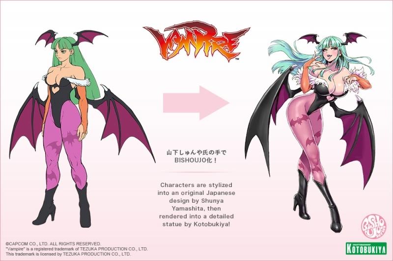【フィギュア】ヴァンパイア美少女 モリガン 1/7スケール PVC塗装済み完成品【特価】 サブ画像9