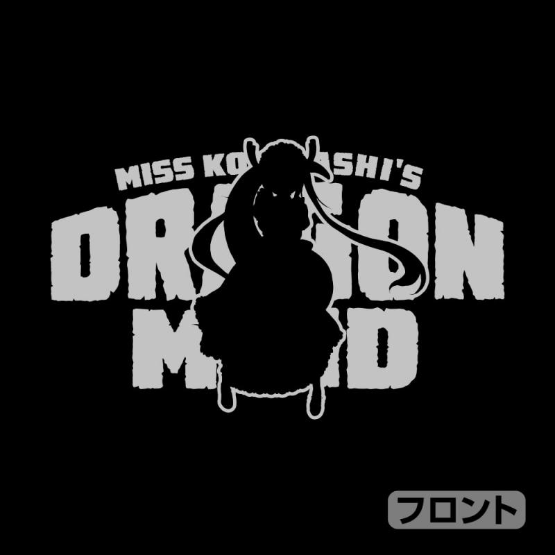 【グッズ-ウィンドブレーカー】小林さんちのメイドラゴンS トール ジップパーカー/BLACK-M サブ画像2