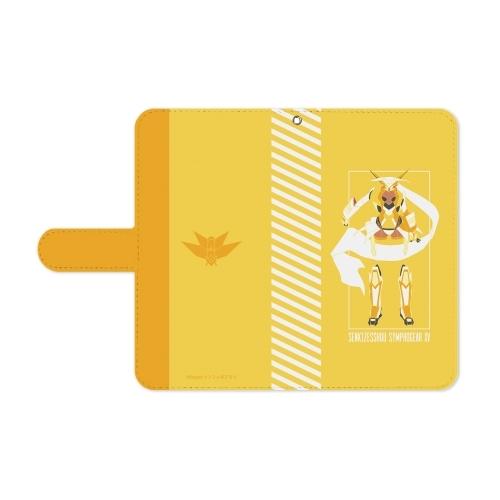 【グッズ-携帯グッズ】戦姫絶唱シンフォギアXV 立花 響 手帳型スマホケース(対象機種/Mサイズ) サブ画像3