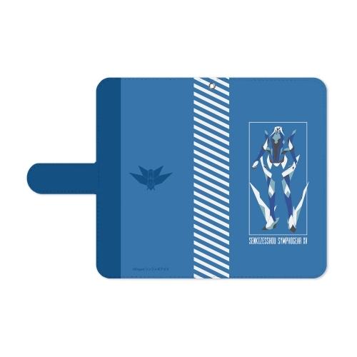【グッズ-携帯グッズ】戦姫絶唱シンフォギアXV 風鳴 翼 手帳型スマホケース(対象機種/Mサイズ) サブ画像3