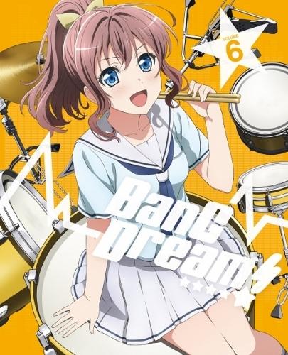 【Blu-ray】BanG Dream!(バンドリ) Vol.6