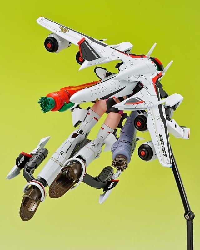 【フィギュア】マクロスF V.F.G. VF-25F メサイア ランカ・リー 接着剤不要スナップキットプラモデル【特価】 サブ画像5