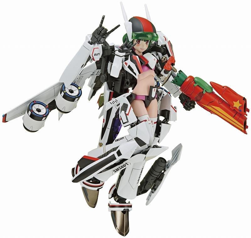 【フィギュア】マクロスF V.F.G. VF-25F メサイア ランカ・リー 接着剤不要スナップキットプラモデル【特価】