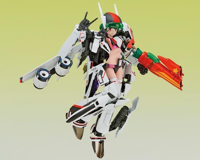【フィギュア】マクロスF V.F.G. VF-25F メサイア ランカ・リー 接着剤不要スナップキットプラモデル【特価】 サブ画像2